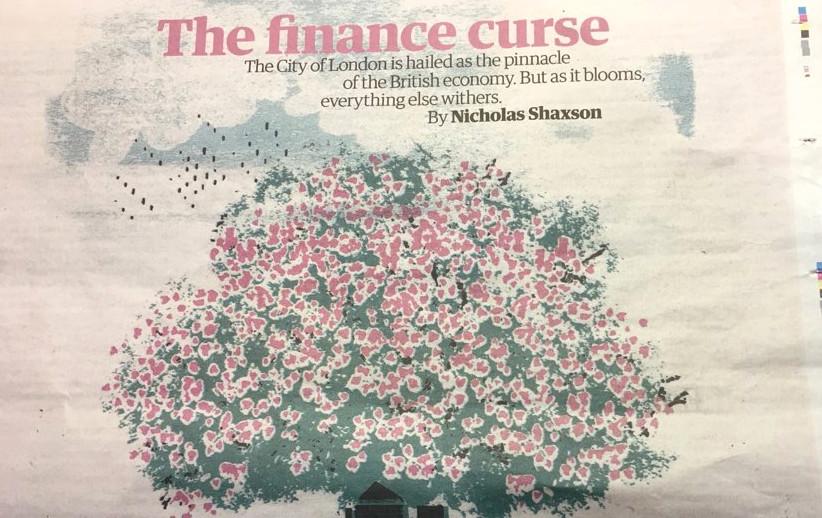 The Finance Curse by Nichols Shaxson
